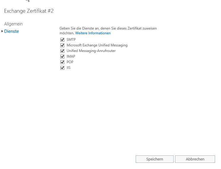 Exchange 2016 – Zertifikate – itBlog
